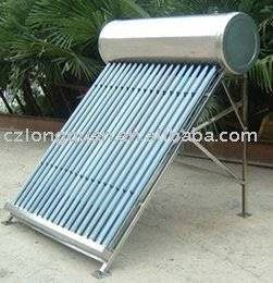 CE approved solar water heater for common household