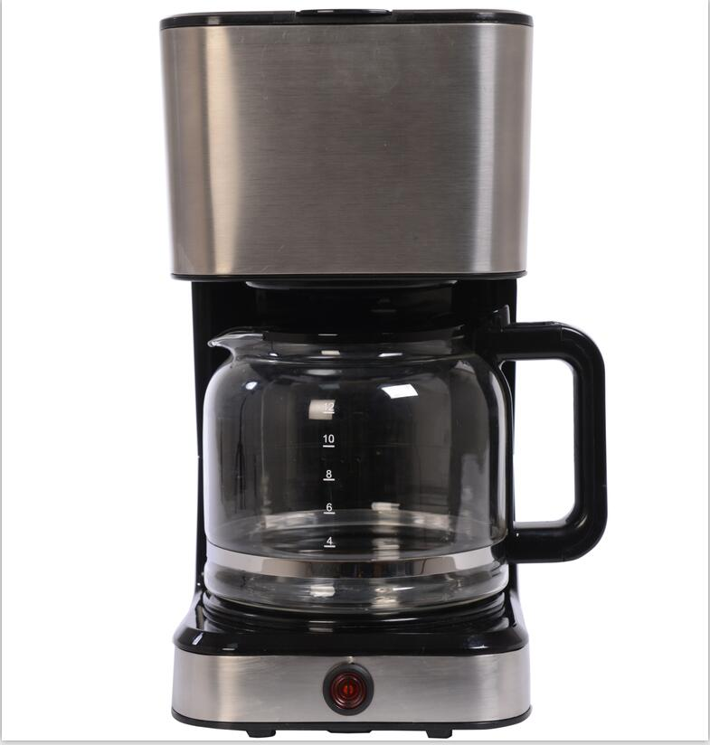 New model CM-121 Stainless steel 1.5L drip coffee maker