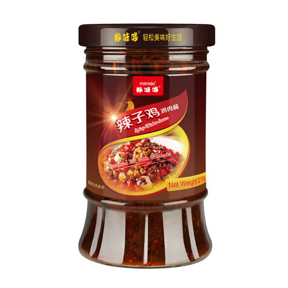 MIMIDO Spicy Chicken Sauce chicken hot sauce chili oil sauce