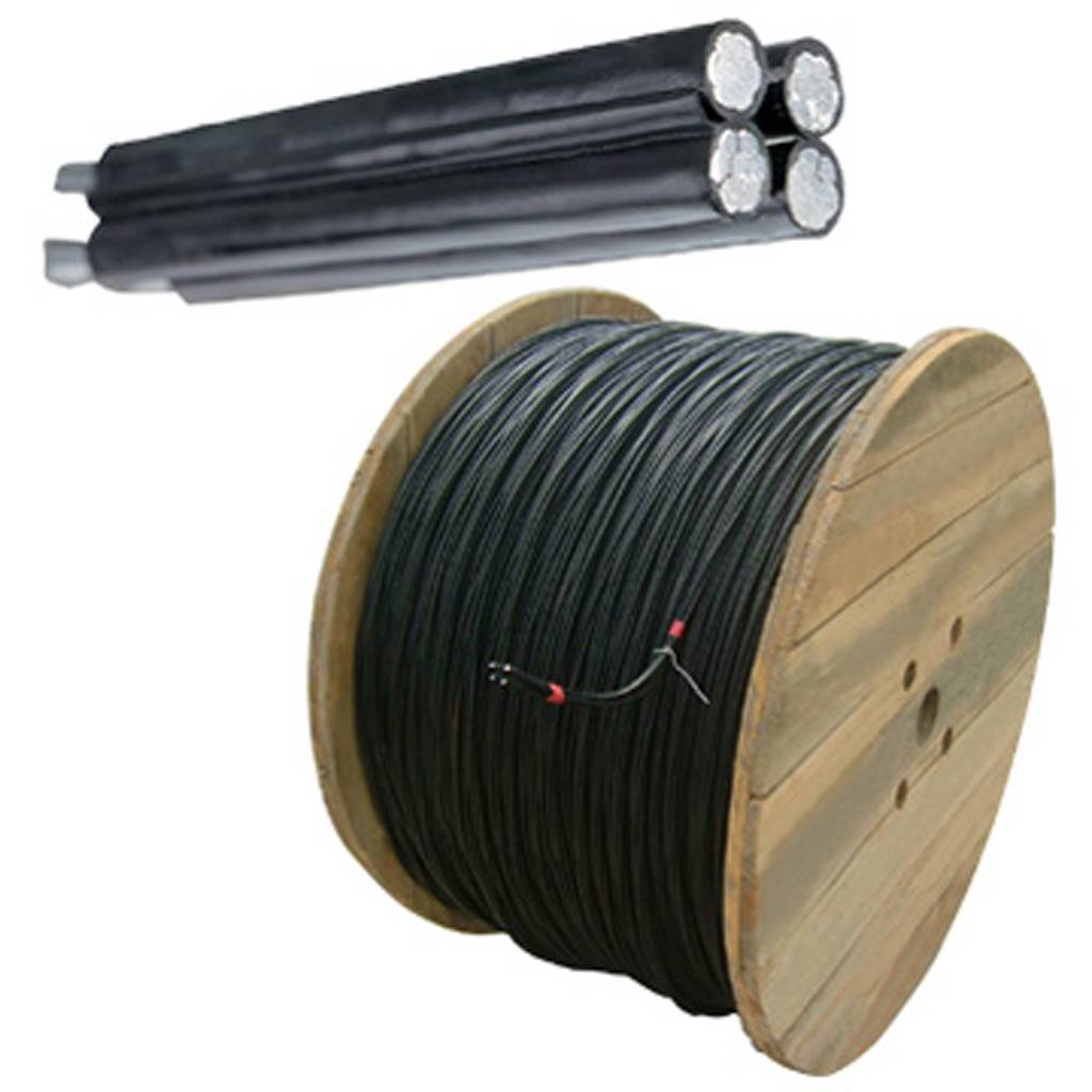 Fire-resistant plastic-insulated cable