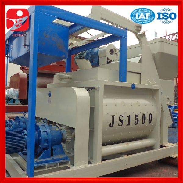 China top building machine JS1500 concrete mixer