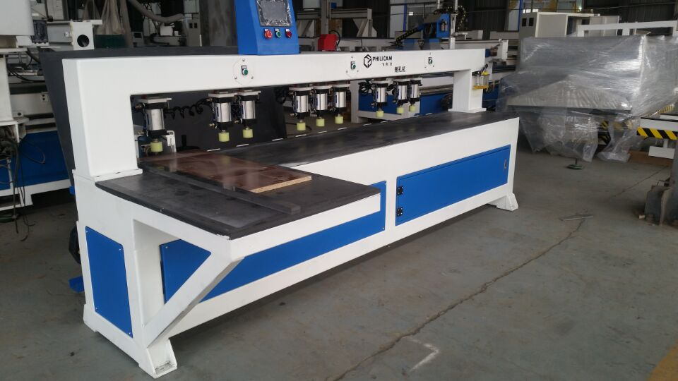 jinan factory directly cnc side holes drilling machine /wood working machine