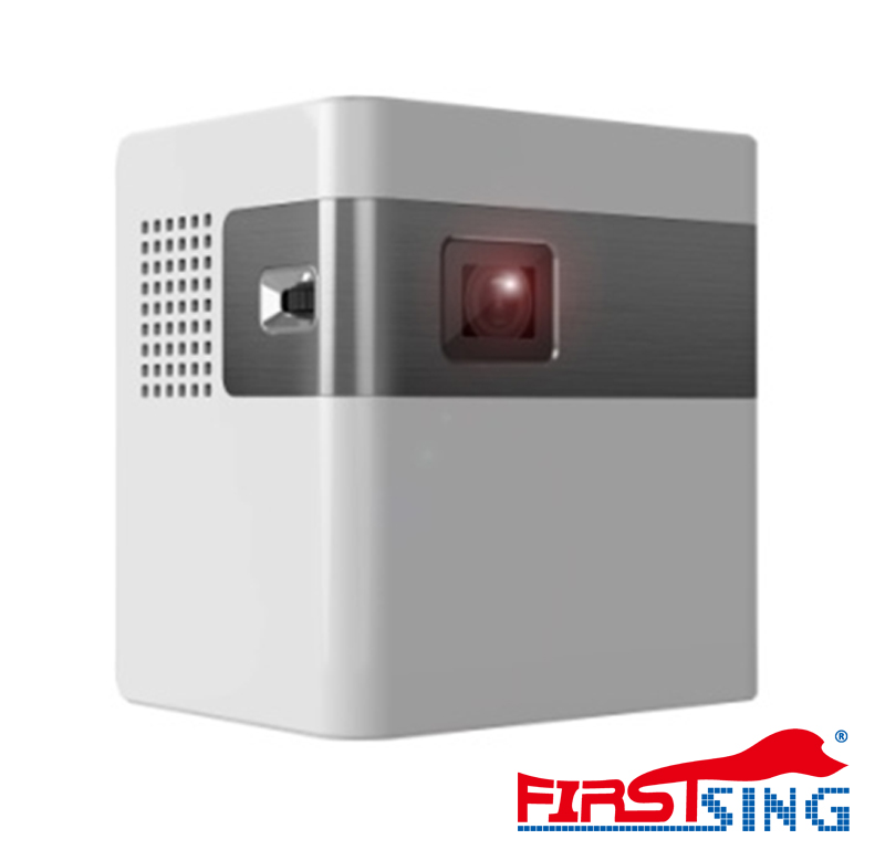 Firstsing Mini Android 5.1 Portable Projector DLP 1080P Home Theater