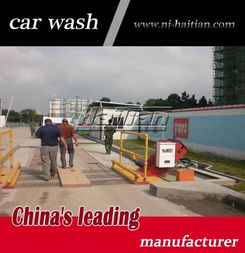 Haitian famous brand DCX-100T wheel wash machines for sale