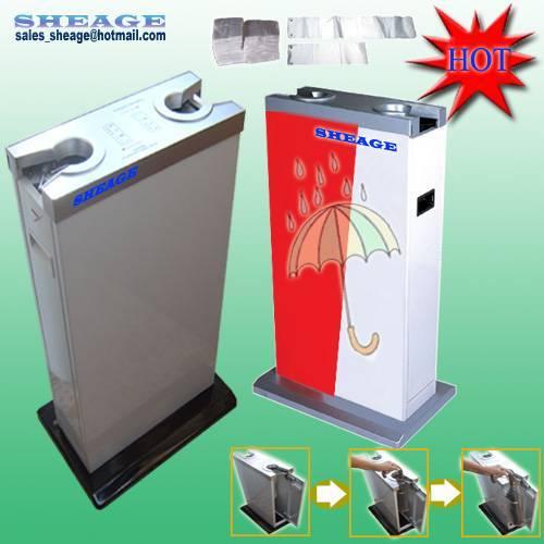 Sanitary Umbrella Bag Dispenser, Umbrella Packing Machine, Umbrella Casing Dispenser, SHE-E201