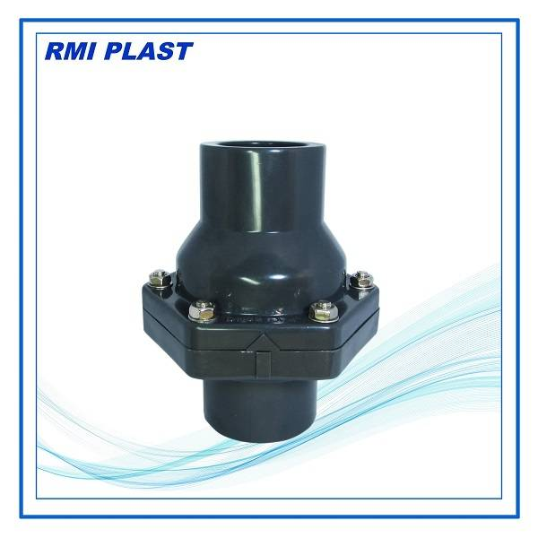 PVC socket swing check valve