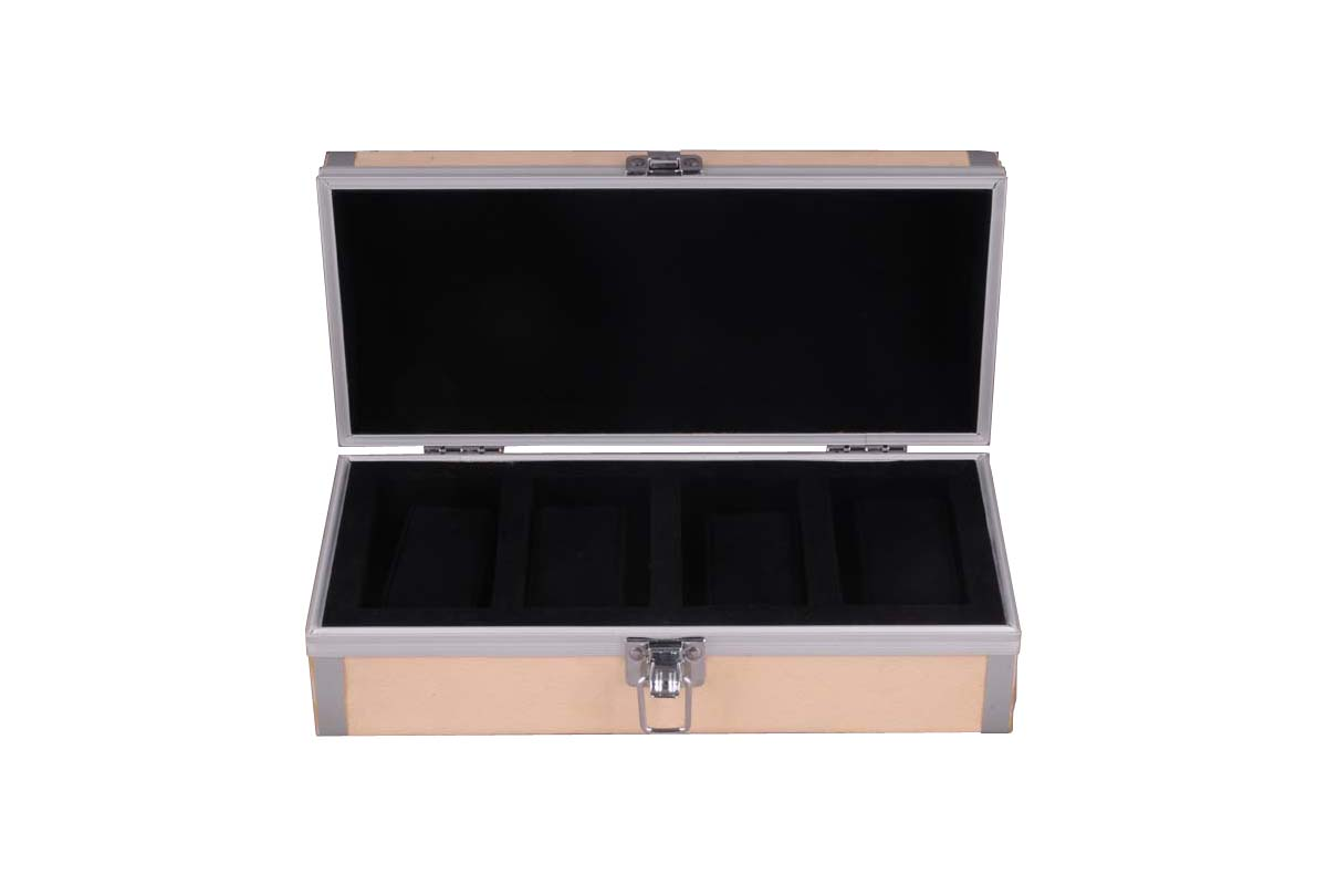 Watch Case for 4 Watch with four compartments
