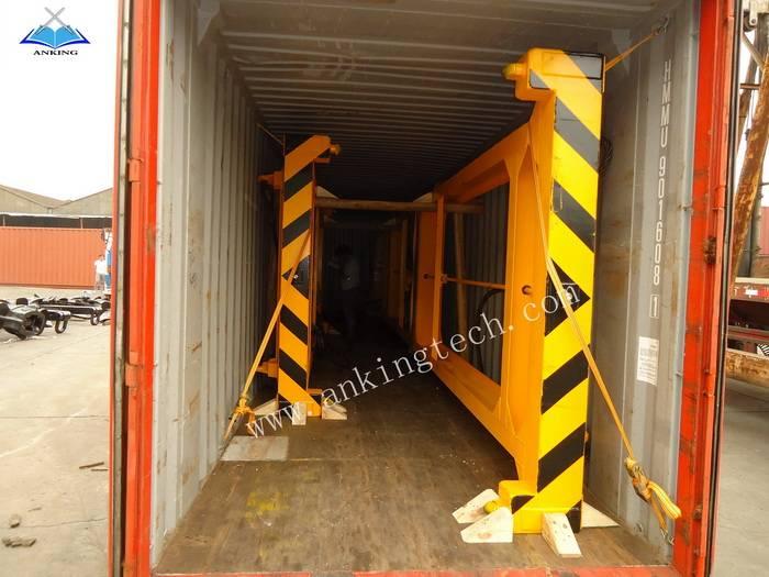 20'&40' semi automatic container spreader