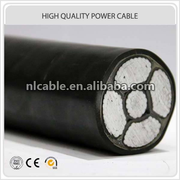 0.6/1KV AL Conductor XLPE insulation PVC sheath armoured power cable