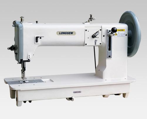 Extra Heavy duty flat bed compound feed lockstitch sewing machine GA243