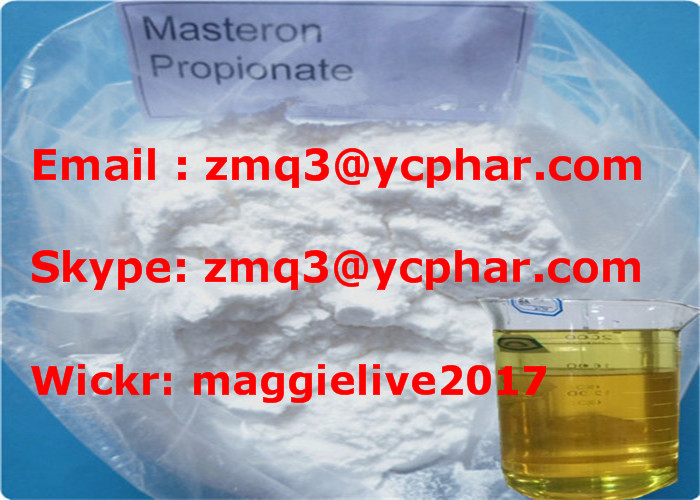99% Steroid Raw Powder Drostanolone Propionate for Gainning Cycle Masteron