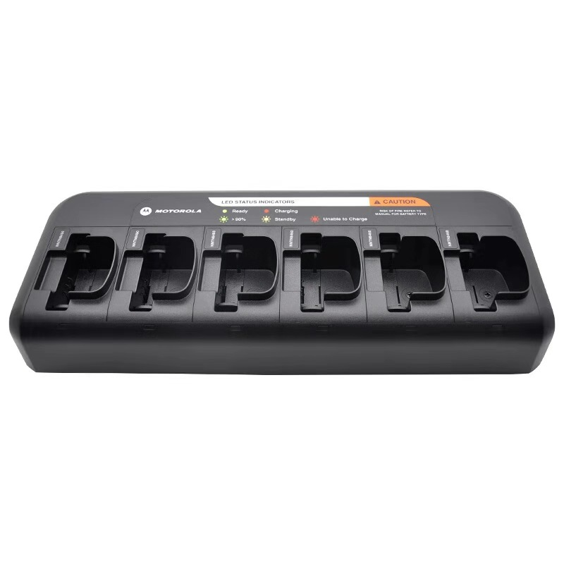 Six-Slot Charger for the Motorola Radio CP200