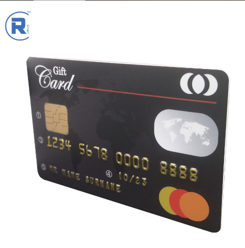 Contactless smart card CR80 blank plastic PVC 125KHZ contactless smart card