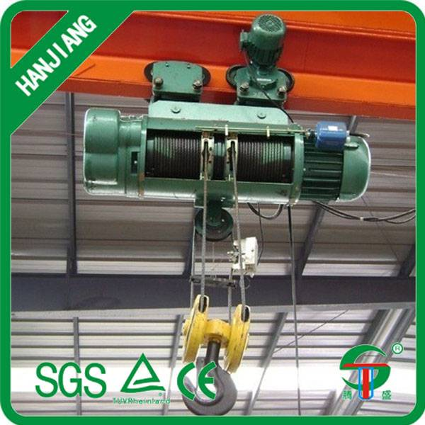 wire rope electric hoist crane 2 tons