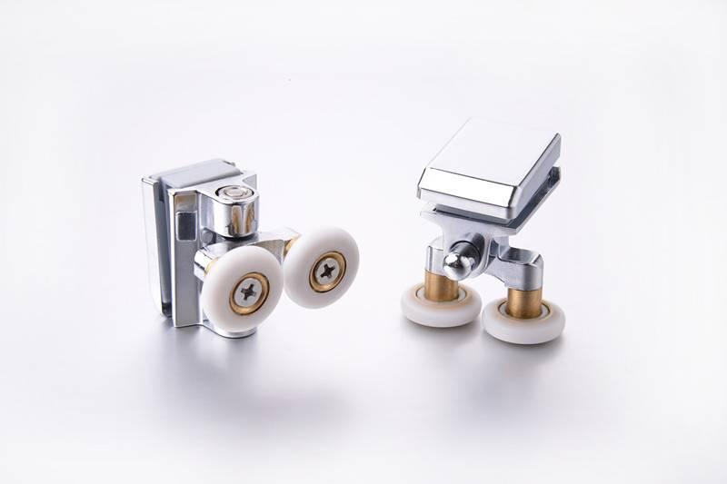 special zinc alloy wheels Double shower roller