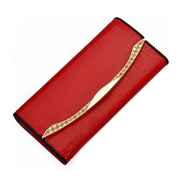 Red PU High quality women wallet