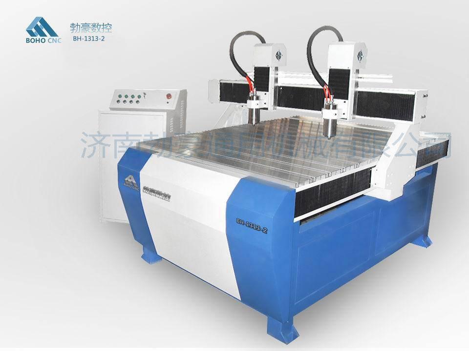 2 spindles CNC engraving machine