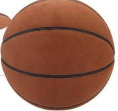 Super fiber moisture absorption leather interior and exterior general basketball