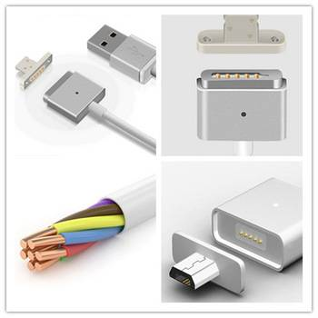 High quality colorful new magnetic micro usb cable