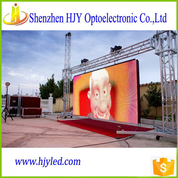 P8 high technology outdoor full color LED screen