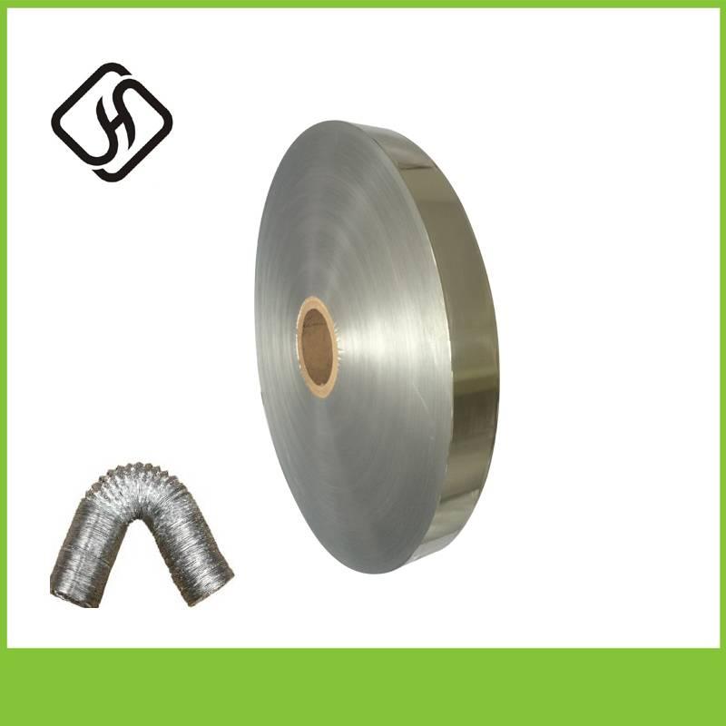 hot sale air conditioning flexible duct alu aluminum foil manufacturer SGS