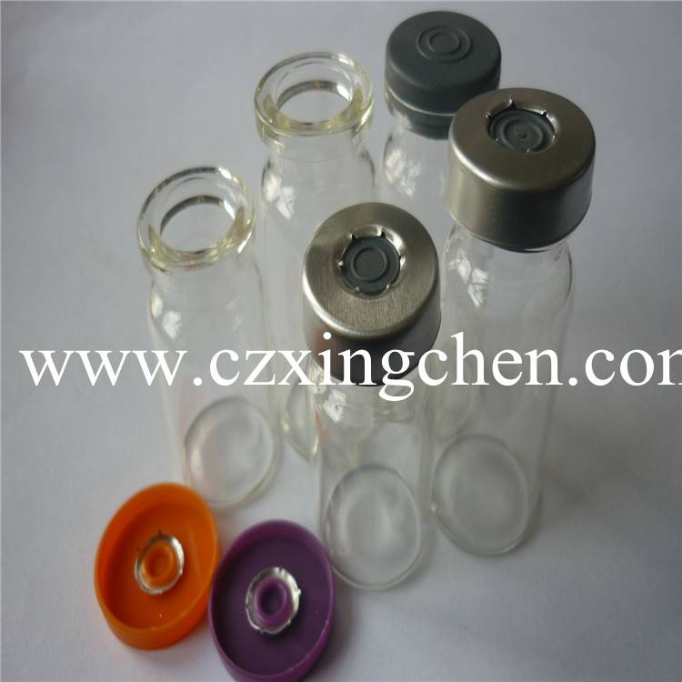 Brown and clear glass bottles and vials