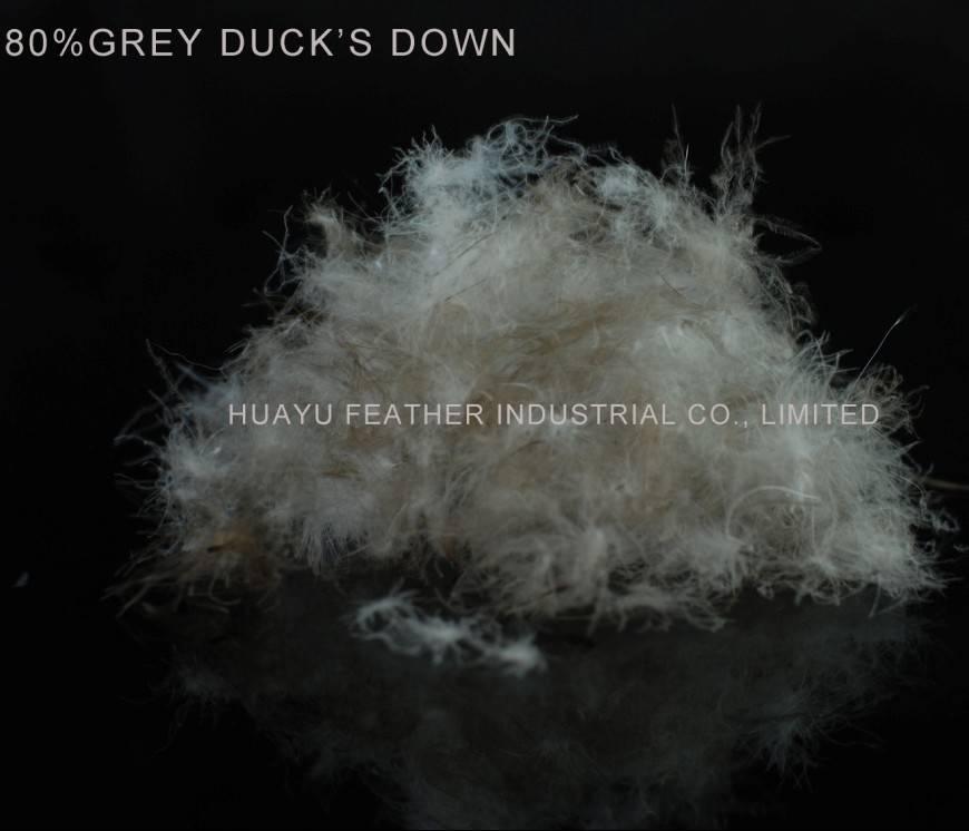 80%Grey Duck's Down