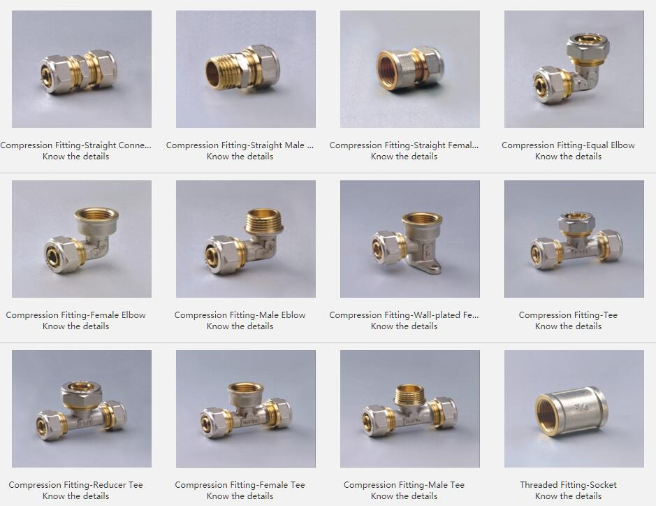 Nickel And Brass Fittings