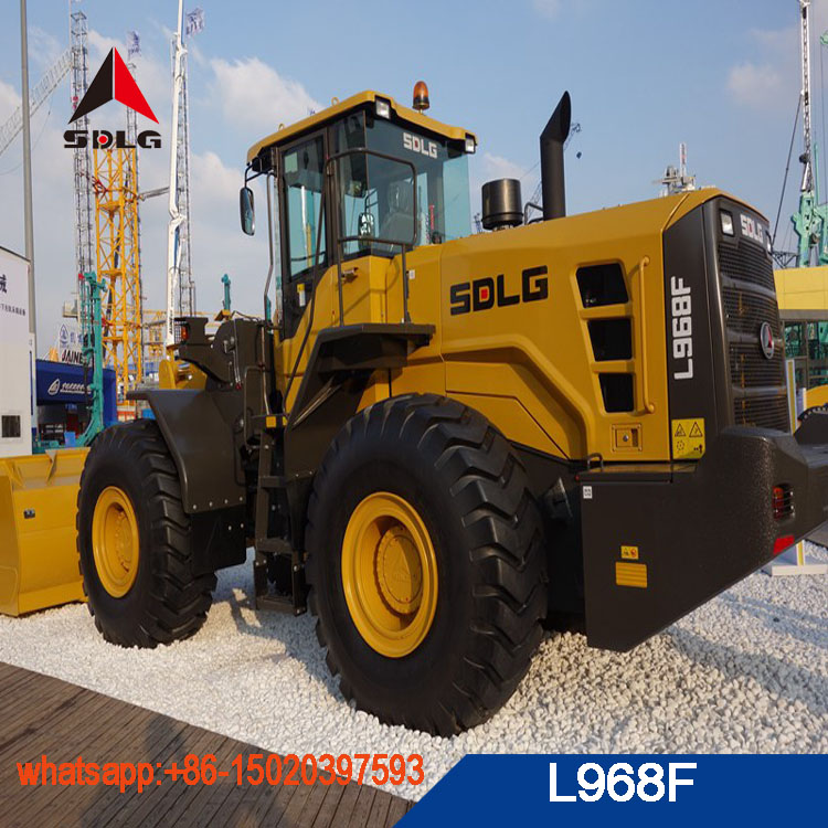 2018 sdlg 6 ton wheel loader LG968 new model L968F with best price for sale