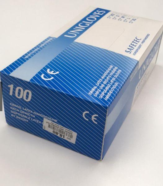 Latex Examination gloves Powder free