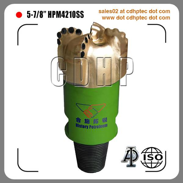 "5 7/8"" matrix body pdc drill bit for oil and gas"