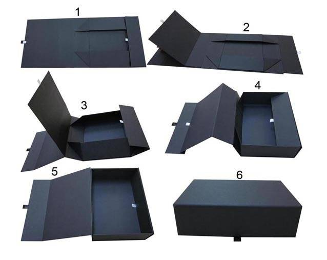 Foldable Cardboard Garment Packaging Box