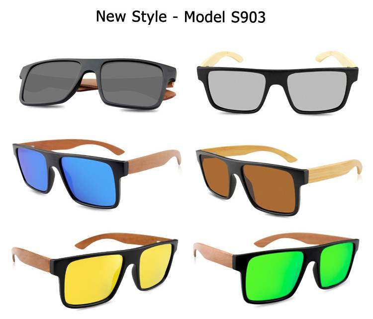 2015 custom wooden sunglasses/bamboo sunglasses with good packing