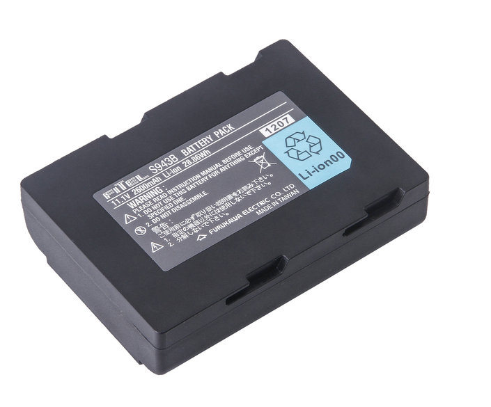 Fusion splicer battery S178 lithium ion cell 11.1v 2600mAh