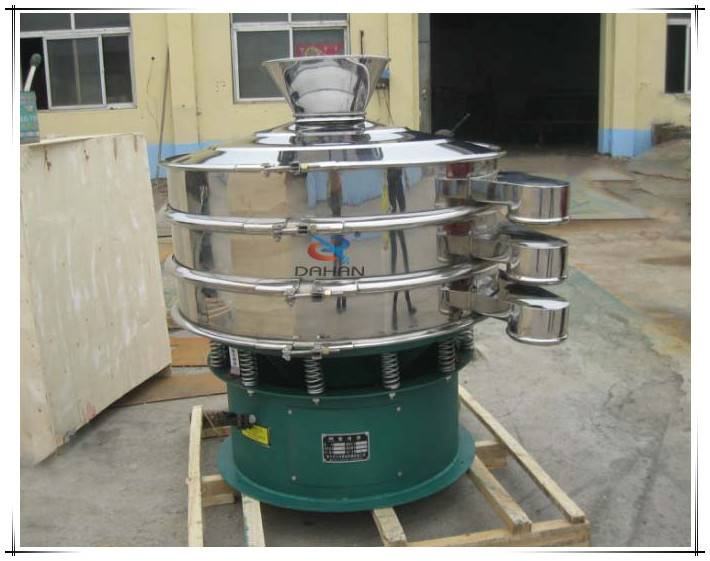 Rotary motion circular vibration screen sieving classifying filtration