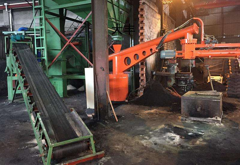 Factory made resin line making machine