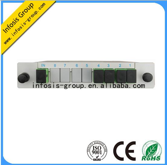 Chinese manufacturer 14 plc splitter lgx box, optical splitter in LGX box, plc splitter lgx box