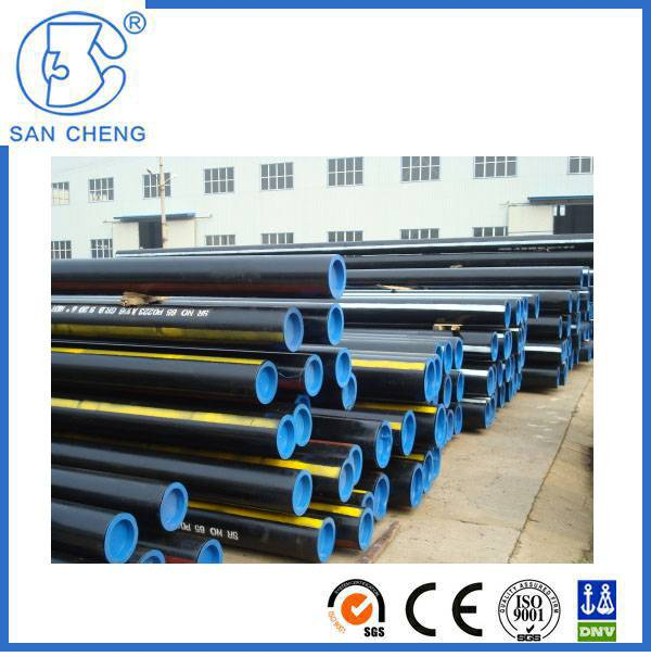 ASTM A106 Black Carbon Steel Seamless Pipe Seamless Tube