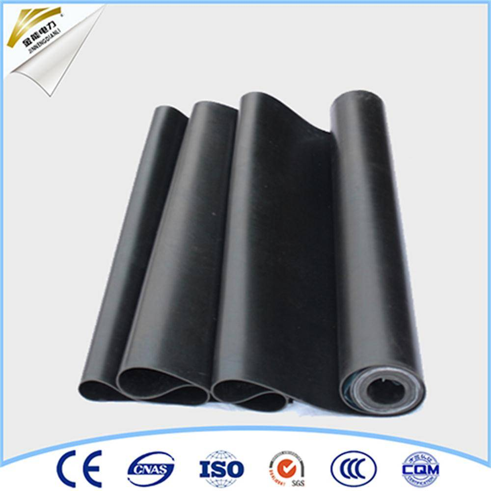 insulating rubber sheet floor mat