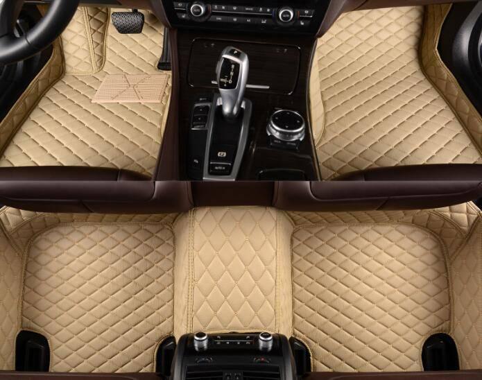 Car Mats Soundproof XPE Material Car Floor Mats for Vitara, 5D Leather Car Mats