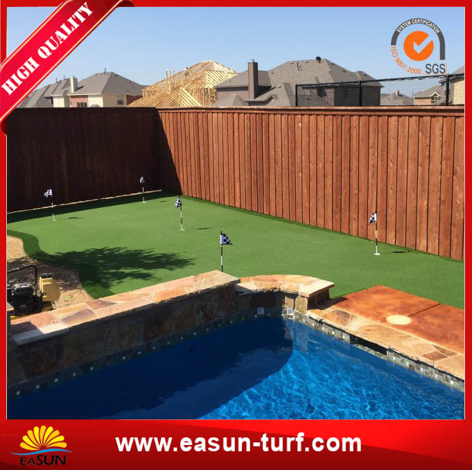 Artificial Landscaping Synthetic Grass Lawn for Garden-MY
