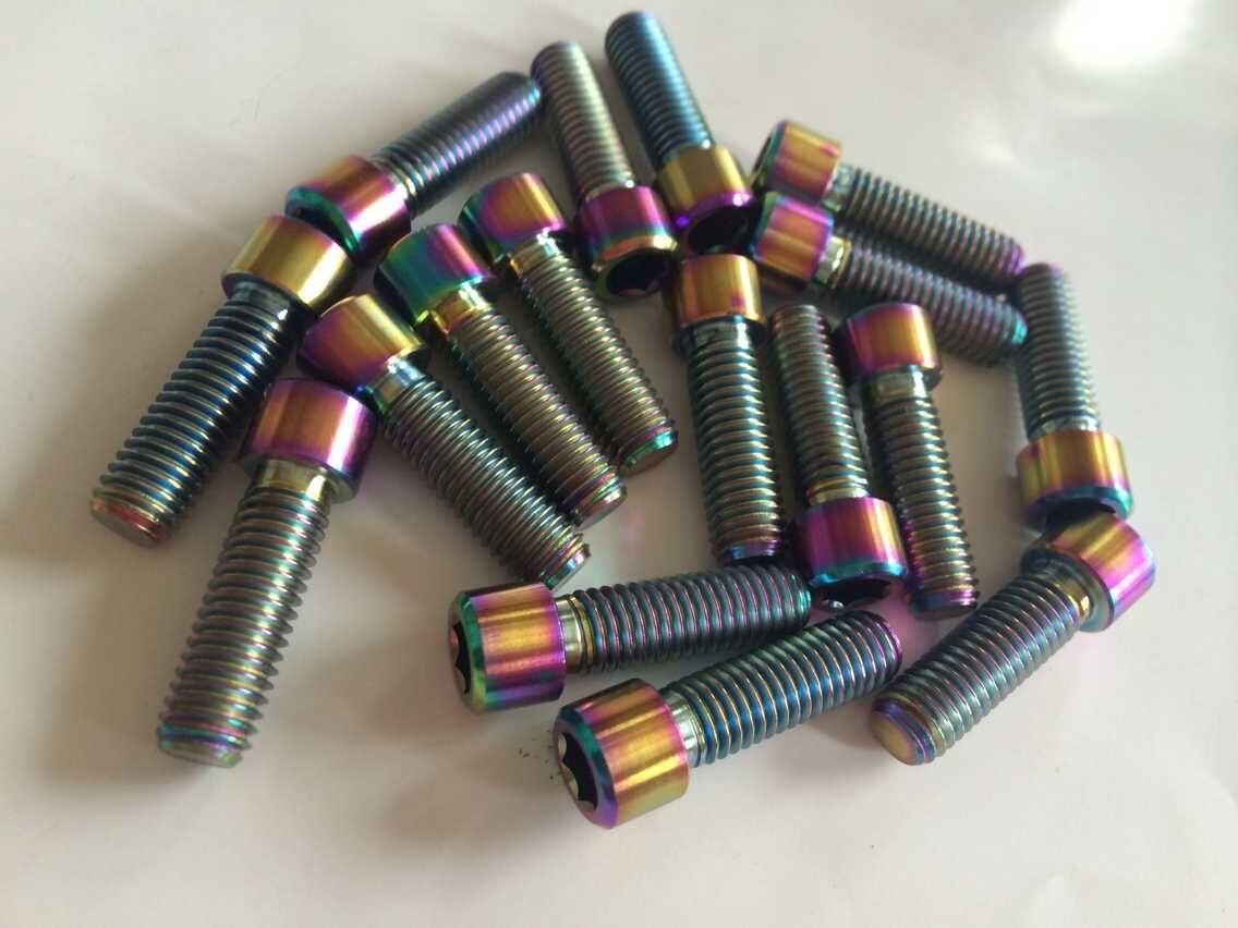 Titanium Alloy Stem Bolt Custom Part - 6al4V Grade 5