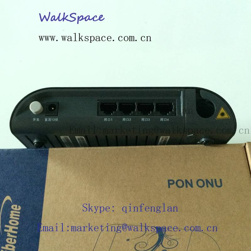 AN5506-04-A Original Fiberhome GPON FTTH/FTTO ONU Fiber Optic Terminal With 4 Lan Ports and One Voic