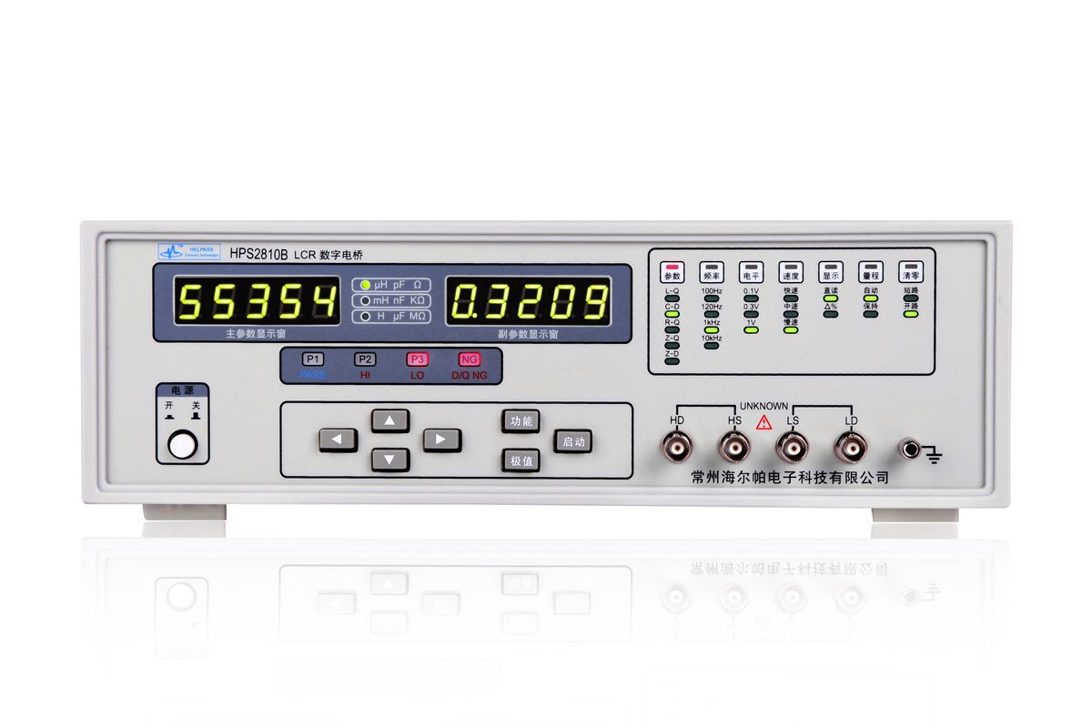 HPS2810B High accuracy lcr meter with 100kHZ frequency