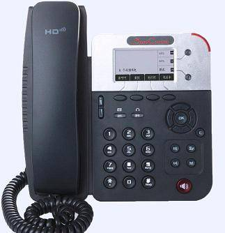WiFi IP Phone Desktop SC-2169WP with 2 SIP accounts, 1 WAN, 1 LAN, SMS 3 way conference call, HD Voi