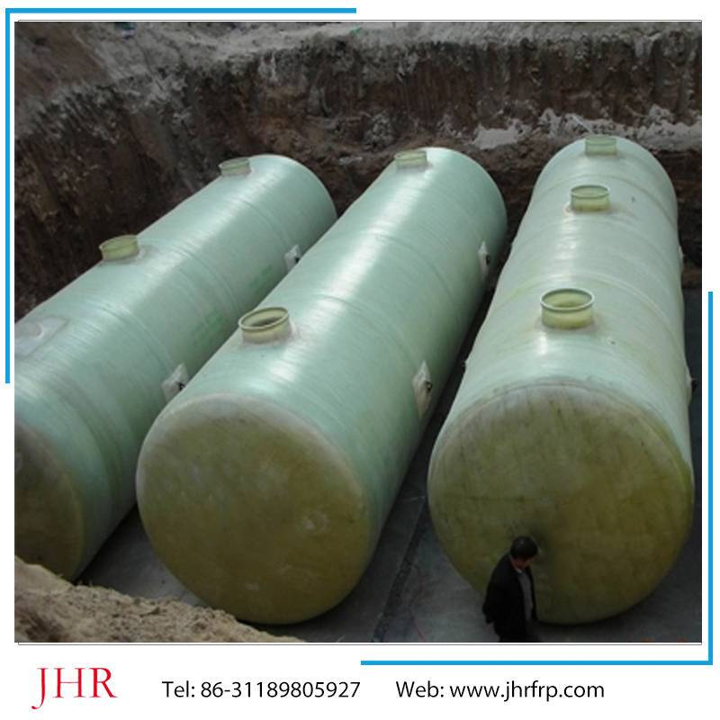 Sewage treatment frp septic tank for sewer system