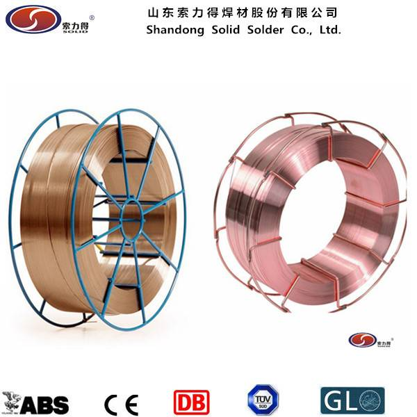 AWS ER70S-6/SG2 mig welding wire manufacture from China - Shandong ...