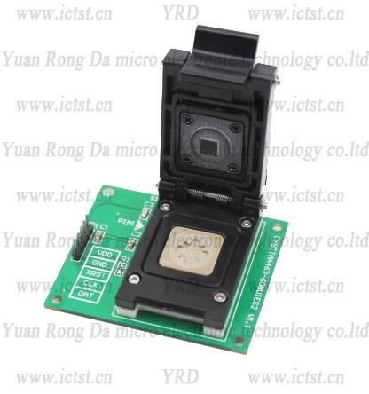 CY8CTMA463 test socket  born-in socket  writer  BGA testing solution programming device