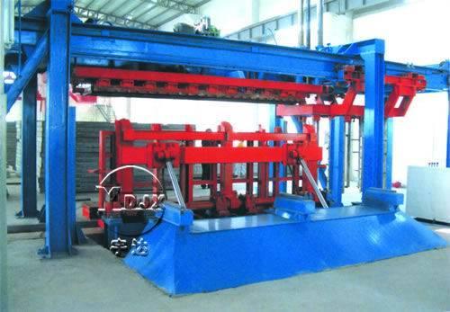 aerated block cutting machine