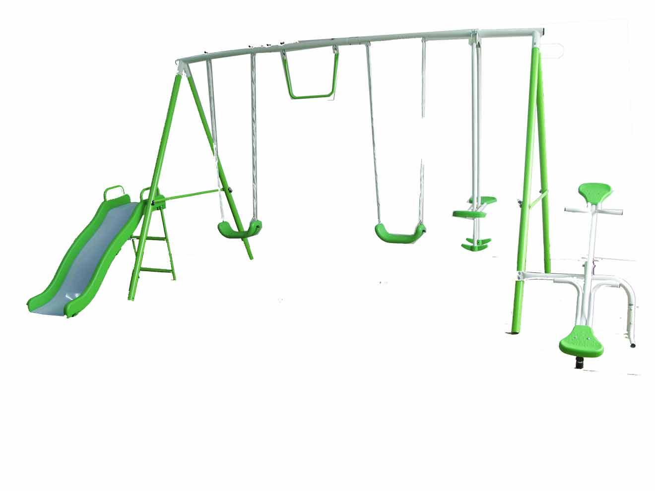 6-1 Metal Swing Set